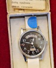 Very rare exclusive Luch QUARTZ Original Vintage USSR Soviet Mens Wrist Watch