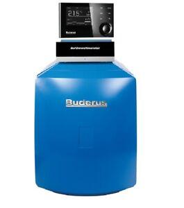 Buderus Logano Plus Ölbrennwert Kessel GB125 18kW V4 MC110 RC310 Ölheizung BE