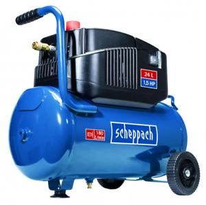 scheppach Kompressor GK240ofx Durckluft Druckluftkompressor 1100 W, 8 bar, 24 l