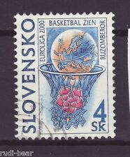 Slowakei Nr.  366  gest.  Finale Frauen Basketball in Ruzomberok        -2