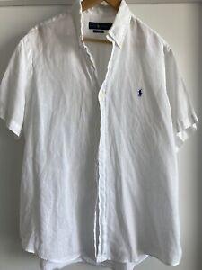 Ralph Lauren Linen Shirt - Mens - XL