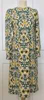 Zara Floral Marni-esque Dress, Size M