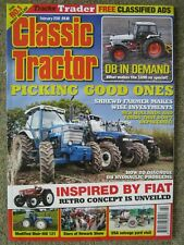 Classic Tractor February 2019 David Brown DB 1690 Muir-Hill 121 Bray Four 384