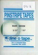"Line O Tape 3/32"" x 120"" Pinstripe Masking Tapes Dark Green #PS8"