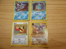 CARTE POKEMON. 3 PRERELEASE + EEVEE HOLO . PROMO black star neuf