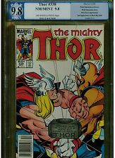 THOR 338 PGX 9.8 LIKE CGC 2ND BETA RAY BILL OWTW PAGES 1983 NICK FURY APPEARANCE
