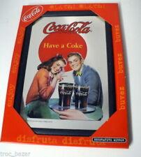 Objets publicitaires de collection Coca-Cola miroirs