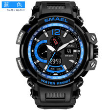 SMAEL Men Digital Watches LED Electronic Wristwatch Male Military Sport Watch