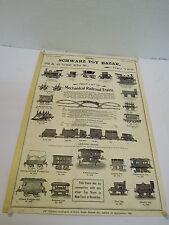 Riproduzione mes-50493 NERO TOY BAZAR NEW YORK 1901 GIOCATTOLI prospetto