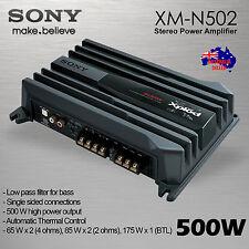 SONY XM-N502 2 Channel Car Stereo Amplifier LPF 500W