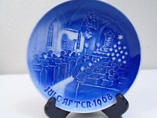 1968 Bing and Grondahl B & G Christmas Plate Christmas in Church Mint Condition