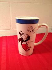 "Monopoly Game Coffee Mug Cup 1999 Hasbro 6"" Tall Latte Tea Cocoa Colorful  A-C"