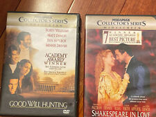 Shakespeare in Love & Good Will Hunting Miramax collectors series widescreen Lot