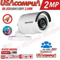 HIKVISION 2MP Camera Bullet DS-2CE16D0T-ITPF 2.8mm HDTVI  20m IR Outdoor 1080p