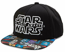 Star Wars Kids' Boys' Youth The Force Awakens Snapback Hat Cap - Black