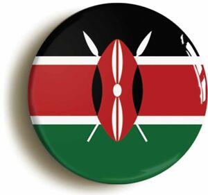 KENYA KENYAN NATIONAL FLAG BADGE BUTTON PIN