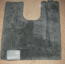 Christy dark grey pedestal mat new with tags