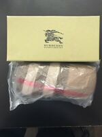 Burberry Sunglasses /Eyeglasses Hard Case and Cloth. Comes With Gift Box.