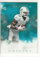 2016 Panini Origins Turquoise #d 49/60 Jarvis Landry #8 Miami Dolphins