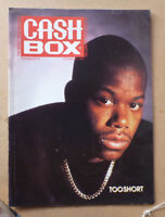 1990 CASHBOX MUSIC MAGAZINE FEATURING TOOSHORT