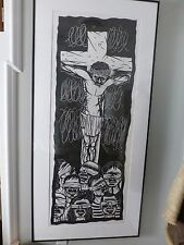 "Original Thom Shaw pen and ink Drawing  22"" x 57"""