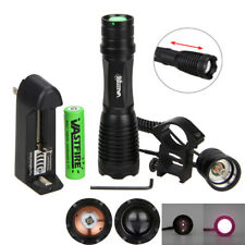 OSRAM 10W 940nm Infrared IR Zoomable LED Night Vision Flashlight Torch 18650+CH