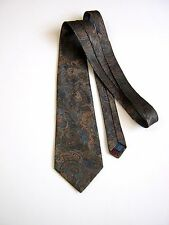 CRAVATTA TIE PAISLEY  MADE IN ENGLAND POLIESTERE