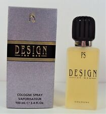 PS Design for Men by Paul Sebastian 3.4 oz / 100 ml Cologne Spray *NEW in BOX*