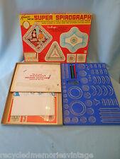 Vtg SUPER SPIROGRAPH 2400 complete good 1969 Kenner paper booklet pens pins