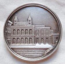 Médaille ARGENT VATICAN PAPE LEON XIII monté en insigne ORIGINAL SILVER MEDAL