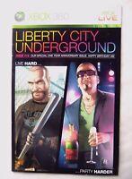 54719 Instruction Booklet - Liberty City Underground - Microsoft Xbox 360 (2009)