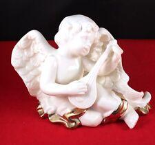 "New listing Elegant 6"" Ceramic Angel Cherub Figurine"