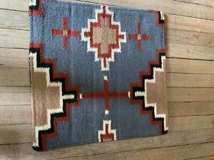 """Southwest Inspired Wool Throw Pillow; 18""""x18""""; Insert Included"""