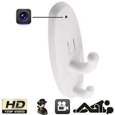 HD Motion Detection Spy Clothes Hook Hidden Camera DV DVR Cam Support 16GB SD