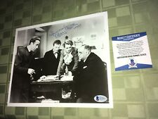 """Mary Aster Maltese Falcon Signed 8"""" x 10"""" Photo Beckett Certified"""
