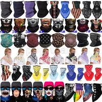 Balaclava Head Neck Gaiter Tube Bandana Scarf Face Mask Cover Washable Reusable