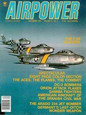 AIRPOWER V12 N5 USAF F-86 SABRE KOREAN WAR COLOR_SPANISH CIVIL WAR_Ar234 *MINT*