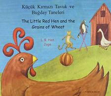 The Little Rojo gallina y los granos de trigo en TURCO Y Inglés por HEN, L. R
