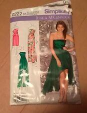 2013 Simplicity 0222 Jessica McClintock Evening Dress Patern Size 12 to 20 UNCUT