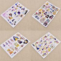 Anime Sailor Moon Sticker Paper Decal Diary Album Label Accessories Craft Decor
