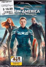 Captain America: The Winter Soldier (DVD, 2014) Brand New Ships Quickly!