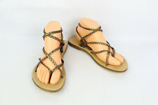 Sandals Jonak Paris Leather T 41/UK 7.5 Very Good Condition