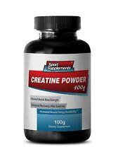 Creatine Monohydrate Powder 100g  Micronized - Enhanced Muscle Mass 1B