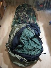 OVER STOCKED SALE - MSS MILITARY SLEEPING BAG SYSTEM - OBVIOUSLY USED CONDITION