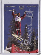 1996 UD OLYMPIC CHAMPIONS DONNA WEINBRECHT AUTOGRAPH