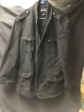 Vintage Guess Black Denim Jacket Size Xl Gently Used Real Real Nice !