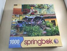 Springbok Puzzle - Colorful Courtyard - 1000 Piece Jigsaw Puzzle -