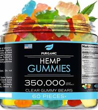 Gummies for Stress Relief ? Clear Gummies - Great for Pain, Insomnia & Anxiety M