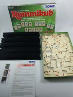Vintage Rummikub Tomy Family Game 1995 Edition Complete Good Condition