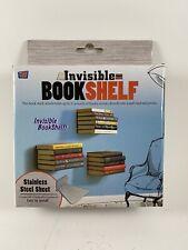 Invisible Bookshelf Wall Home Decor Design Student Creative Hidden Book Shelf
